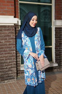 Baju Kebarung Jameela (KJ106) - Koleksi Raya 2019