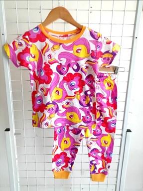 Pyjamas LITTLE PONY PINK WHITE : KIDS size 2