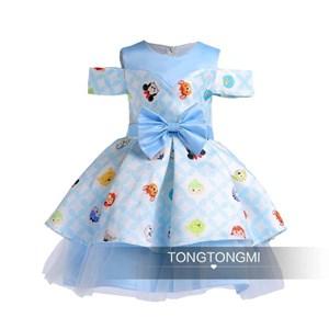Blue Disney Tsum Tsum Dress