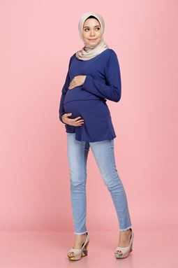 Iriss Blouse - Aubusson Blue