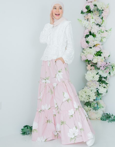 NUR 2.0 PEACE SKIRT IN BLUSH