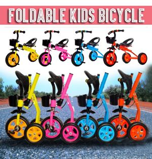 Foldable Kids Bicycle