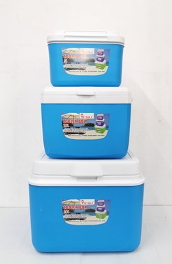 3pcs COOLER BOX - SKY BLUE