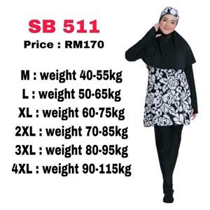 Baju Renang Muslimah SB 511