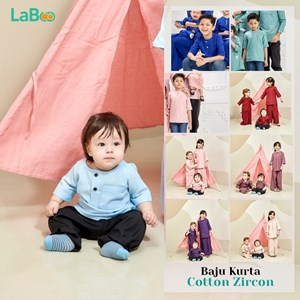 LaBoo Baju Kurta Cotton Zircon
