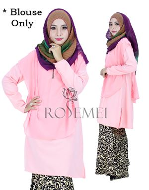BELLA LONG TUNIC - SOFT PINK