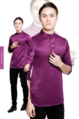 KURTA LUTH - DARK PURPLE
