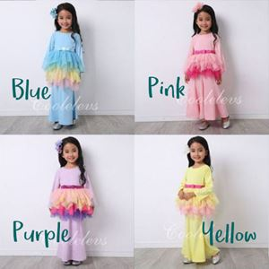 COOLELVES RAYA TUTU SET ( 1T-6T ) & ( 7T - 12T )