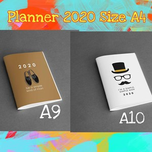 SALE - >> Planner Qissara 2020 (Size A4)