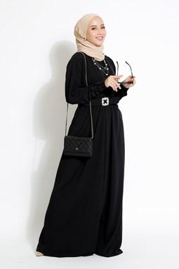 AZZAHRA CHARCOAL BLACK