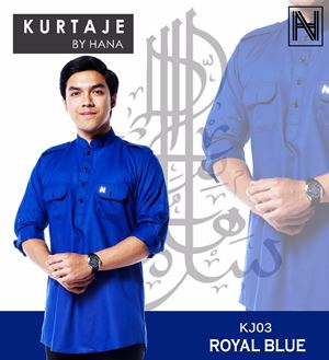 Kurtaje by Hana (Royal Blue)