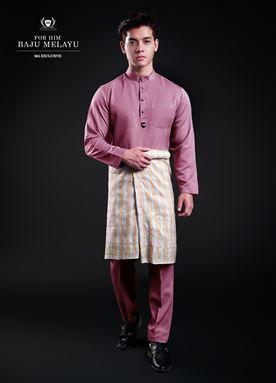 Baju Melayu For Him (Plum Purple)