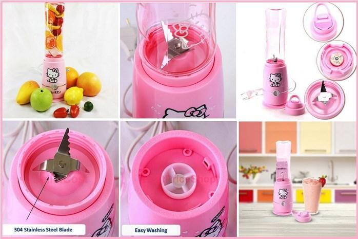 Kitty In A Blender ~ Bliss cartoon hello kitty juice blender asotv lazada