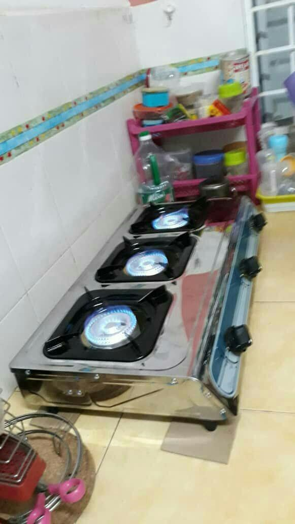 Dapur Gas 3 Tungku