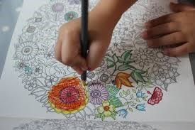 Lelong Colouring Book Garden Secret SECRET 315 3 PM WITH End BOOK