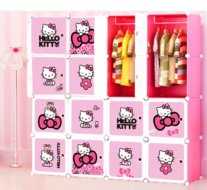 r hello kitty 16c wardrobe 11street malaysia wardrobes. Black Bedroom Furniture Sets. Home Design Ideas
